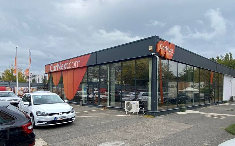 Showroom CarNext by LeasePlan AFI